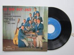 JAZZ Par Le JACK'S BAND Orchestre / St LOUIS BLUES / St JAMES INFIRMARY / LADY BE GOOD Disque  Vinyle Sacem 45t Dédicace - Jazz