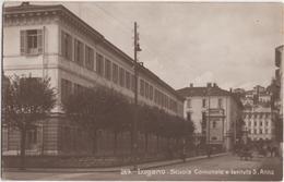 Lugano - Scuola Comunale E Istituto S. Anna - TI Tessin