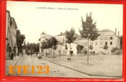Cours Rhône - Place De La République - 69 Rhône - Cours-la-Ville