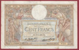 "100 Francs ""Luc Olivier Merson"" Du 15/07/1932.CG ---F/TTB+--ALPH Z.35899 --(11) - 1871-1952 Antiguos Francos Circulantes En El XX Siglo"