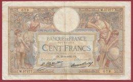 "100 Francs ""Luc Olivier Merson"" Du 29/09/1932.CR ---F/TTB+--ALPH M.37277--(14) - 1871-1952 Antiguos Francos Circulantes En El XX Siglo"