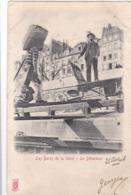 75 / Paris Petits Métiers - Edit Kunzli, Légende Rouge - Les Bords De La Seine - Le Débardeur - PRECURSEUR 1903 - Petits Métiers à Paris