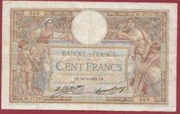 "100 Francs ""Luc Olivier Merson"" Du 10/11/1932.CP ---F/TTB+--ALPH W.37707--(16) - 1871-1952 Antiguos Francos Circulantes En El XX Siglo"
