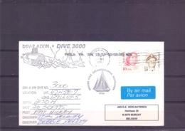 U.S.A. -  DSV-2 Alvin - Dive 3000 - Astoria 20/9/1995     (RM15345) - Sous-marins