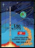 Korea North 1998 Corea / Space Satellite MNH Espacio Satélite / Cu13102  38-54 - Espacio