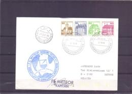 Deutsche Bundespost - F.S. Meteor 1989/90 Reise 11 - <sodatlantik - Zirkumpolarstrom - 22/10/89   (RM15370) - Navires & Brise-glace