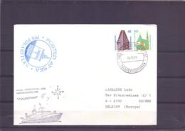 Deutsche Bundespost - PFS Polarstern - Posted At Sea - 5/9/89   (RM15371) - Navires & Brise-glace
