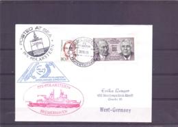 Deutsche Bundespost - PFS Polarstern -  Bremerhaven - 28/6/89   (RM15372) - Navires & Brise-glace