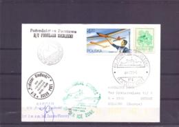 "Polska -  RV ""Profesor Siedlecki"" -  Paquebot - Institute Ecology Pad Antarctica 1988-89    (RM15374) - Navires & Brise-glace"