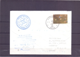 België - MV Vitus Bering - Far Easts Shipping - Antwerpen 17/5/1989   (RM15375) - Navires & Brise-glace