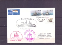 RSA - PFS Polarstern -  Bremerhaven - Cape Town 30/10/89     (RM15379) - Navires & Brise-glace