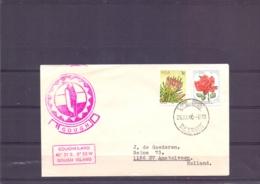 RSA -  Gough - Gougheiland - Cape Town 25/11/80  (RM15380) - Navires & Brise-glace