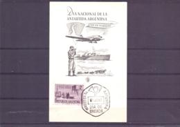 Rep. Argentina - FDC - Dia Nacional De La Antartida Argentina - 5/6/65  (RM15382) - Année Polaire Internationale