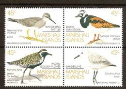 Marshall Islands 1989 Yvertn° 229-232 *** MNH Cote 10 € Faune Oiseaux Vogels Birds - Marshall