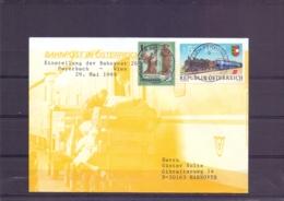 Rep. Österreich - Einstellung Der Bahnpost 264 Payerbach-Wien 29/5/1999  (RM15399) - Trains