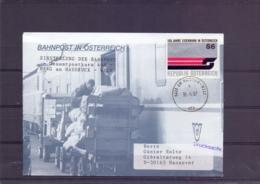 Rep. Österreich - Einstellung Der Bahnpost Gesamtpostkurs 468 Haag Am Hausruck - Wels  31/5/97      (RM15405) - Trains