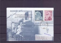 Rep. Österreich - Einstellung Der Bahnpost Gesamtpostkurs 465  Wels - Vorchdorf Eggenberg  31/5/97      (RM15406) - Trains