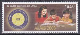 Sri Lanka 2003 Philatelie Philately Briefmarkenausstellung Stamp Exhibition LANKAPHILEX KInder Children, Mi. 1403 ** - Sri Lanka (Ceylon) (1948-...)