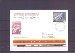 Rep. Österreich - Einstellung Bahnpost 946 Wolfsberg - Bruck An Der Mur - 29/5/1999   (RM15477) - Trains