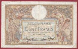 "100 Francs ""Luc Olivier Merson"" Du 23/03/1933.AB---F/TTB+--ALPH .Y.39590----(21) - 1871-1952 Antiguos Francos Circulantes En El XX Siglo"