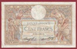 """100 Francs """"Luc Olivier Merson"""" Du 30/03/1933.MJ---F/TTB+--ALPH .V.40005----(22) - 1871-1952 Antiguos Francos Circulantes En El XX Siglo"""