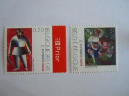 België Belgique 2005 Europalia Schilderij Tableau Kazimir Malevitch & Sergej Sudeikin 3430-3431 Yv 3415-3416 MNH ** - Neufs