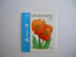 België Belgique 2008 Bloemen Fleurs Tulp Orange Tulipe Zegel Uit Boekje Timbre De Carnet B92 Cob 3786 MNH ** - België