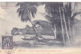 1783/ Ill's Sous Le Vent De Tahiti, Huahine, Coin De Rivage Et Quartier Du Commerce, A Fare 1904 - Tahiti