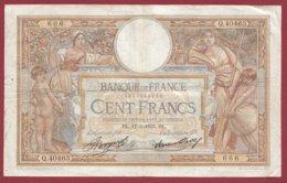 """100 Francs """"Luc Olivier Merson"""" Du 11/05/1933.DL---F/TTB+--ALPH .Q.40463----(25) - 1871-1952 Antiguos Francos Circulantes En El XX Siglo"""