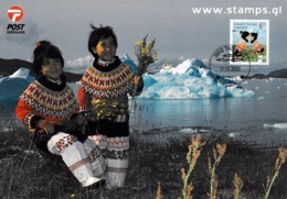 GREENLAND 2005 EUROPA/Holidays: Souvenir Card CANCELLED - Greenland