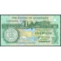 TWN - GUERNSEY 52c - 1 Pound 2002-2009 Prefix U - Signature: Clark UNC - Guernsey