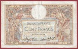 """100 Francs """"Luc Olivier Merson"""" Du 16/11/1933.BA---F/TTB+--ALPH .J.41773----(29) - 1871-1952 Antiguos Francos Circulantes En El XX Siglo"""