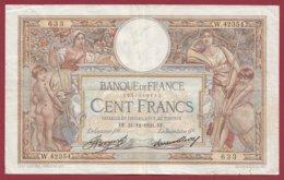"100 Francs ""Luc Olivier Merson"" Du 21/12/1933.BF---F/TTB+--ALPH .W.42354----(32) - 1871-1952 Antiguos Francos Circulantes En El XX Siglo"