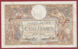 """100 Francs """"Luc Olivier Merson"""" Du 18/01/1934.HA---F/TTB+--ALPH .J.42781----(34) - 1871-1952 Antiguos Francos Circulantes En El XX Siglo"""