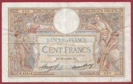 "100 Francs ""Luc Olivier Merson"" Du 22/02/1934.KO---F/TTB+--ALPH .H.43418----(35) - 1871-1952 Antiguos Francos Circulantes En El XX Siglo"