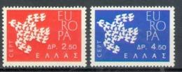 Greece 1961; Europa Cept, Michel 775-776.** (MNH) - Europa-CEPT