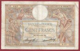 """100 Francs """"Luc Olivier Merson"""" Du 22/03/1934.HQ---F/TTB+--ALPH .H.44236----(37) - 1871-1952 Antiguos Francos Circulantes En El XX Siglo"""