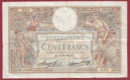 """100 Francs """"Luc Olivier Merson"""" Du 27/09/1934.EU---F/TTB+--ALPH .W.45896----(38) - 1871-1952 Antiguos Francos Circulantes En El XX Siglo"""