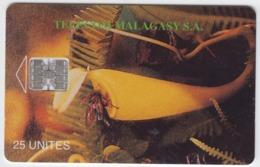 Madagascar- Malagasy -  Phonecard - Superb Fine Used Pitcher Plant - Madagascar