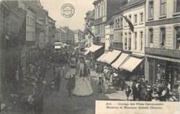 Belgique - Ath - Cortège Des Fêtes Communales - Madame Et Monsieur Goliath - Ath