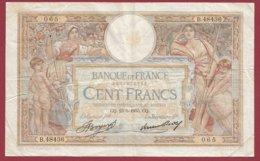 """100 Francs """"Luc Olivier Merson"""" Du 23/05/1935.CQ---F/TTB+--ALPH .B.48436----(40) - 1871-1952 Antiguos Francos Circulantes En El XX Siglo"""