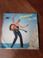 Disque De Johnny Hallyday - Johnny à L'Olympia Philips Standard B 77.397 L - 1962 - - Rock