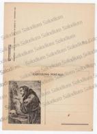 4536 Padre ILARIO Da TEANO Inno Della Gioventù Italiana - CARTOLINA DOPPIA - Musica - S. Francesco D'assisi - CAMPOBASSO - Caserta
