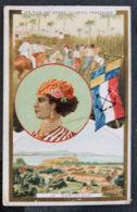 MARTINIQUE - CHROMO - LA PLUS ANCIENNE COLONIE FRANCAISE - Kaufmanns- Und Zigarettenbilder