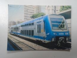 D168382  Train - Railway Station - Bahnhof  - Gare - France  SNCF - Gare TOULON Hungarian Postcard - Treni