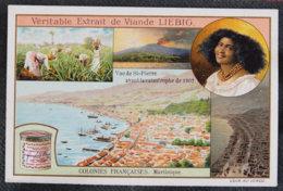 MARTINIQUE - CHROMO - LIEBIG - VUE DE ST PIERRE AVANT L ERUPTION DE 1902 - Liebig