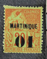 MARTINIQUE - 1888 - YT 3** - ALPHEE DUBOIS - Unused Stamps
