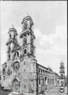 """PUGLIA - ALTAMURA - CATTEDRALE - VIAGGIATA 1967 DA ALTAMURE - ANNULLO A TARGHETTA """"APPLICATE IL CODICE"""" - Altamura"""