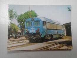 D168385  Train - Railway Station - Bahnhof  - Gare -  Hungarian Postcard  -GREECE - OSE  - VOLOS - Eisenbahnen