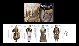 Greece 2019 Mih. 3052C/55C EUROMED. Traditional Mediterranean Costumes (booklet) MNH ** - Greece
